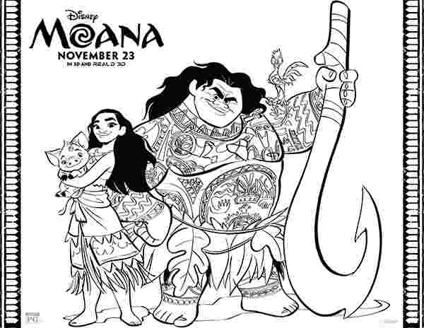 free printable moana coloring sheets free printables disney