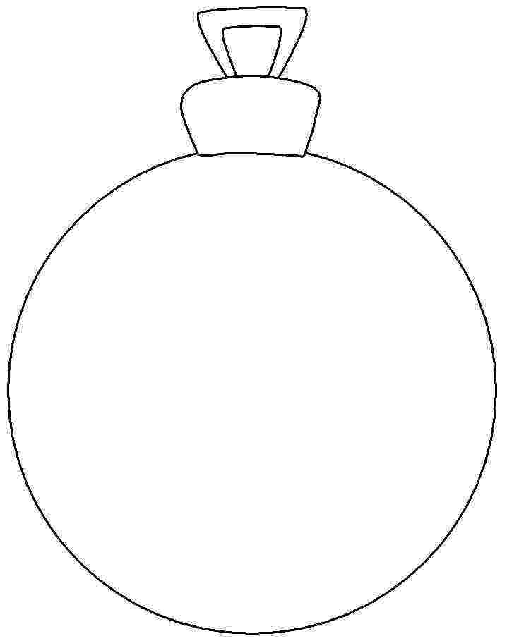 free printable ornament coloring pages coloured christmas