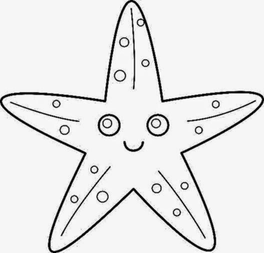 free printable starfish template starfish pattern