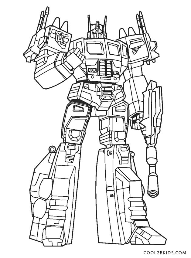 free printable transformer coloring pages for kids cool2bkids