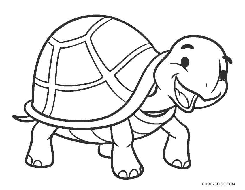 free printable turtle coloring pages for kids cool2bkids