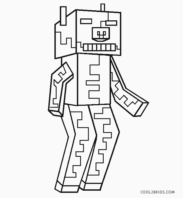 free printable zombie coloring pages for kids cool2bkids