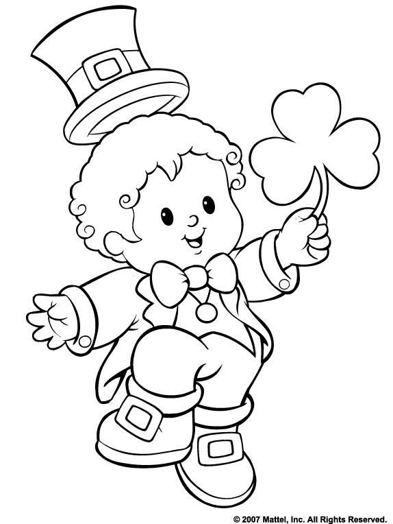 free st patricks day coloring pages ausmalbilder
