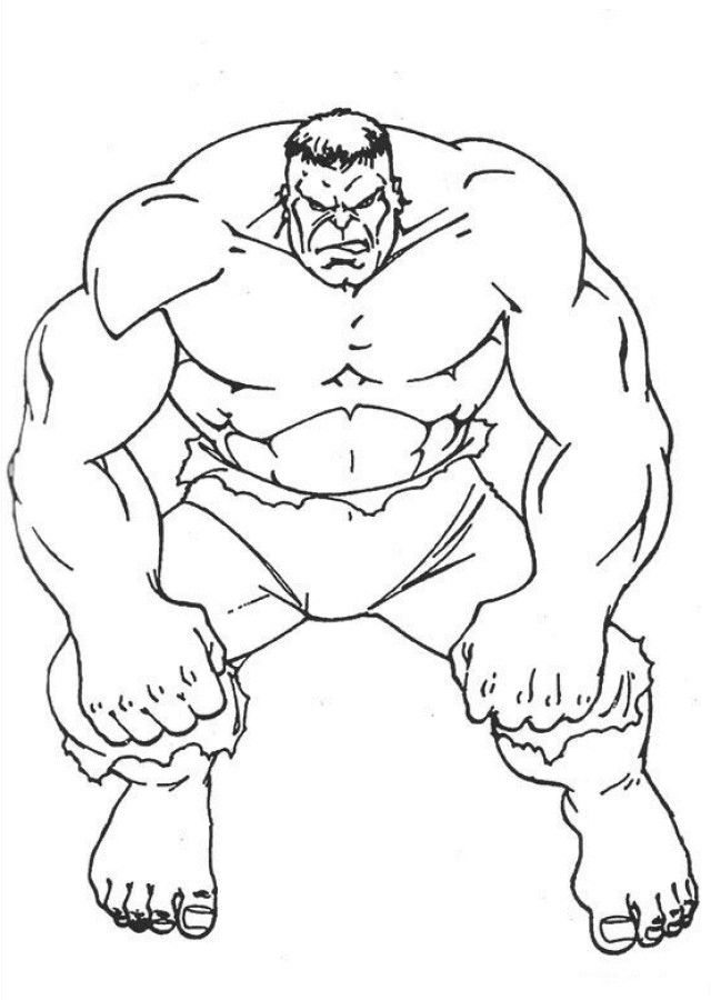 free the incredible hulk coloring pages download free clip
