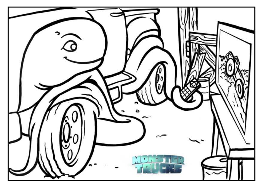free truck coloring pages at getdrawings free for