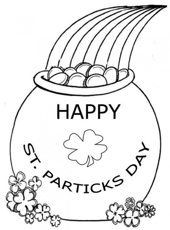 free worksheets st patricks day coloring pages for kids