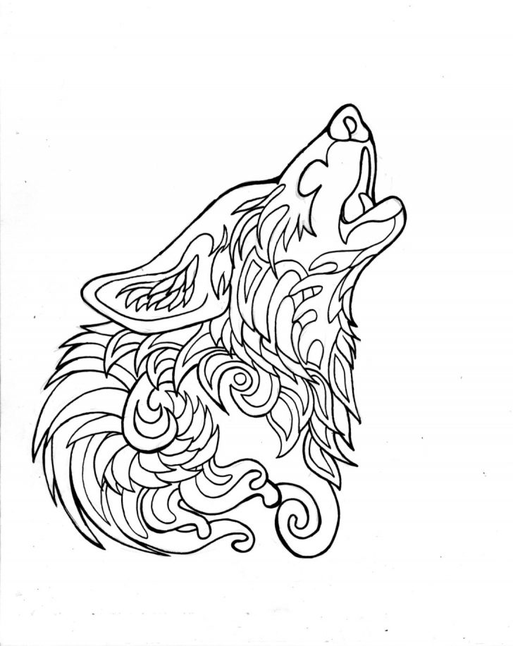 Wolf Coloring Pages Picture - Whitesbelfast.com