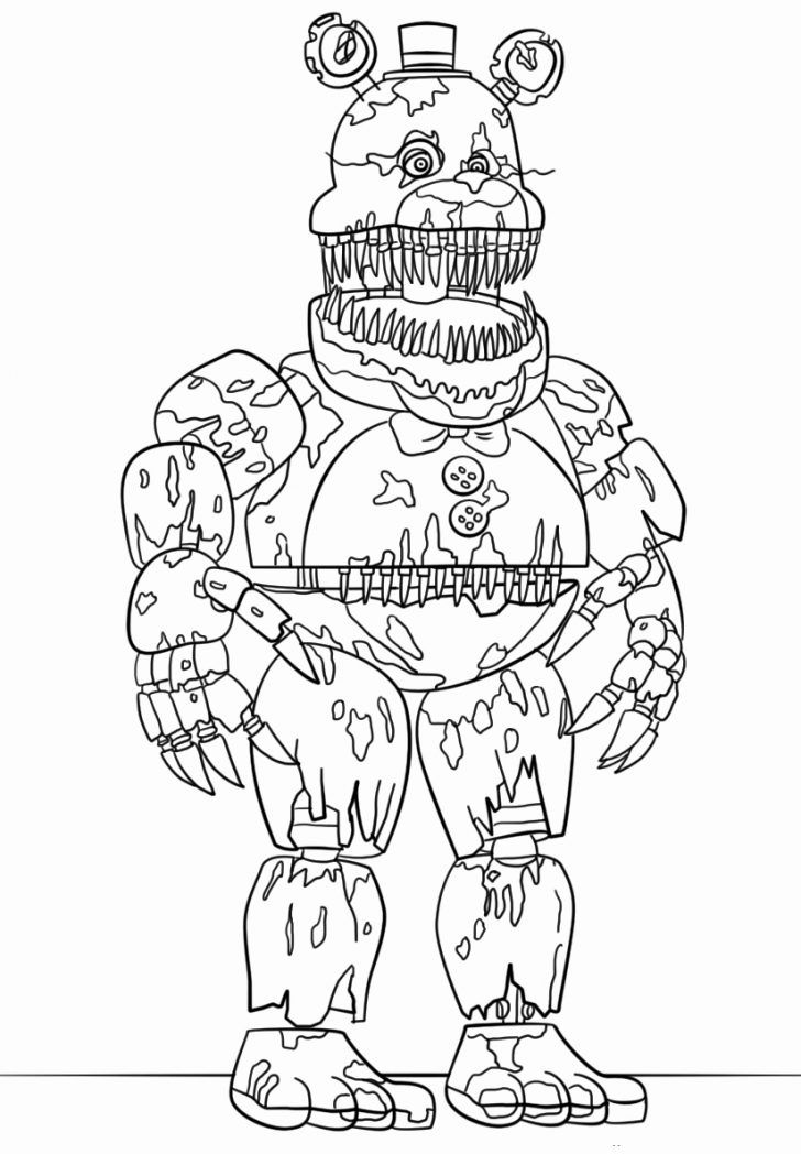 freeway five nights at freddys coloring book coloring