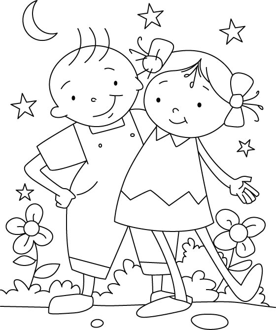 friendship coloring pages best coloring pages for kids