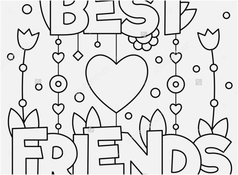 friendship coloring pages footage best friends coloring page