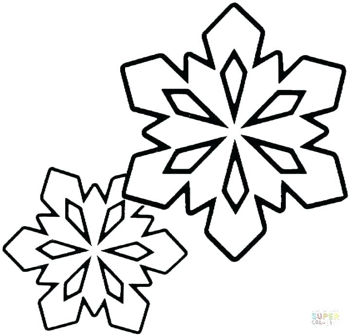 frozen coloring pages snowflake page book snowflakes