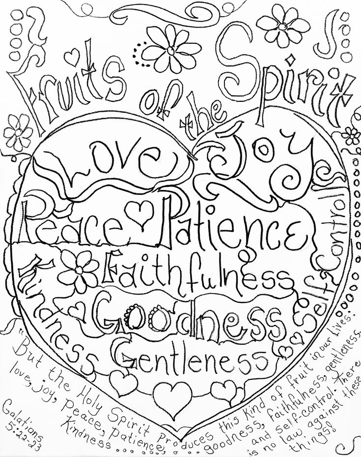 fruits of the holy spirit coloring pages kaigobank