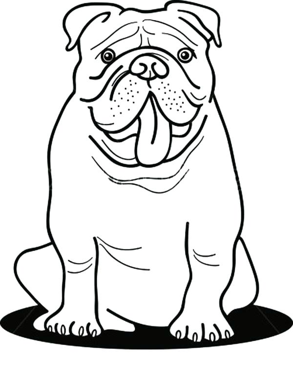 georgia bulldogs coloring pages at getdrawings free