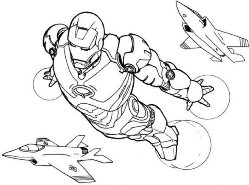 get this free ironman coloring pages 75908