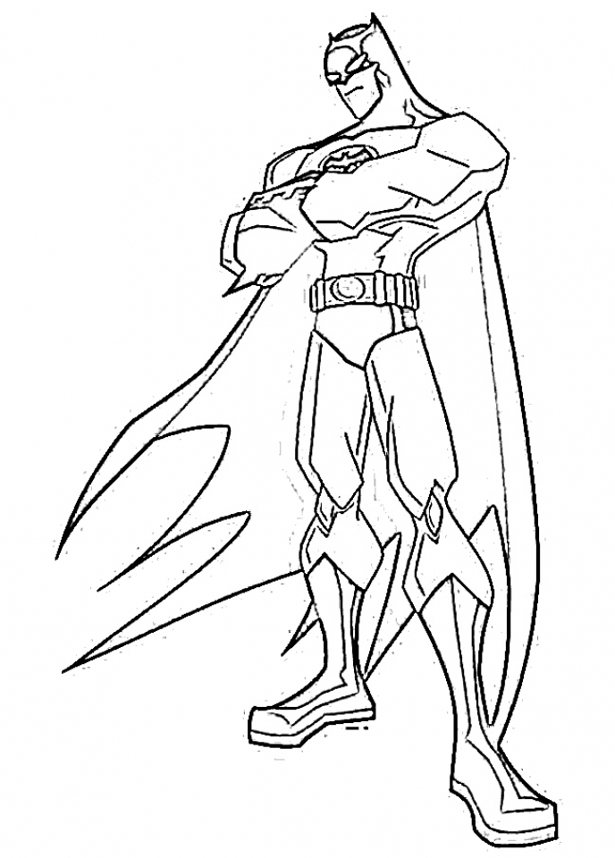 get this free printable batman coloring pages dc superhero