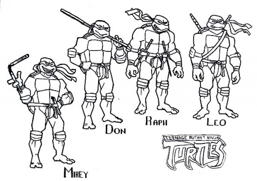 get this free teenage mutant ninja turtles coloring pages to