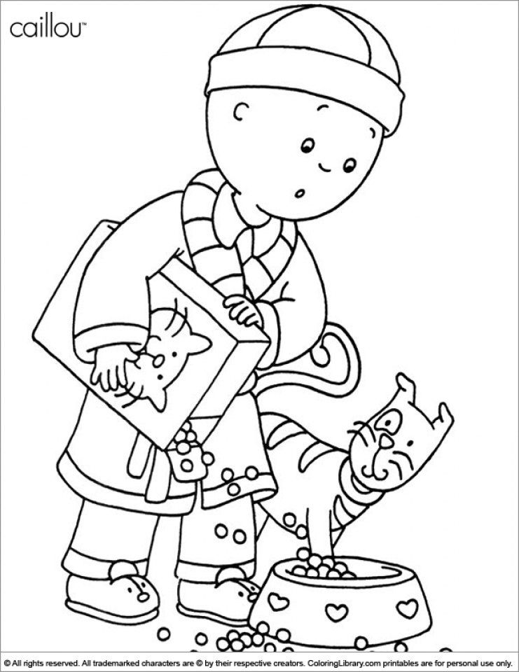get this online caillou coloring pages f8shy