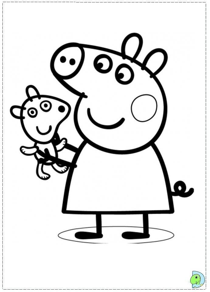 get this peppa pig coloring pages free printable 98392