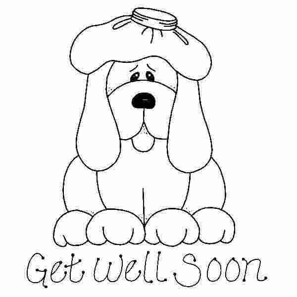 get well soon cute coloring pages get well soon daddy
