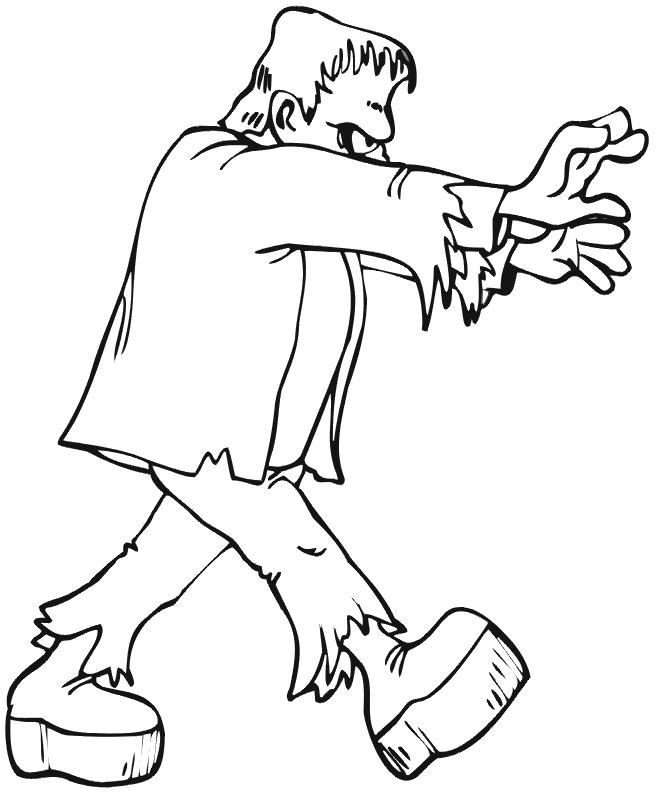 ghost frankenstein coloring pages ghost cartoon cartoon