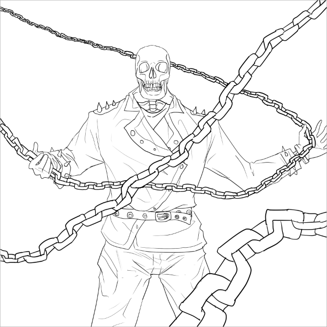 ghost rider coloring pages coloring pages ausdrucken