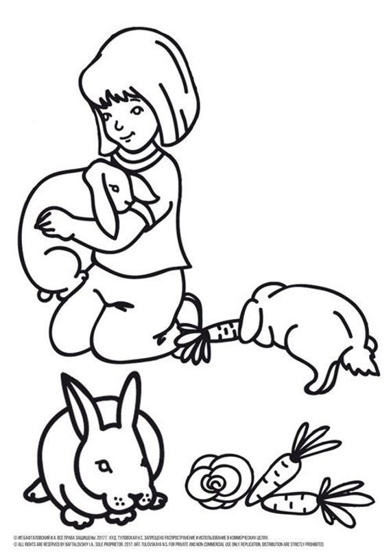girl coloring pages bunny coloring pages rabbit coloring pages printable coloring pages for girls ba bunny coloring pages printable