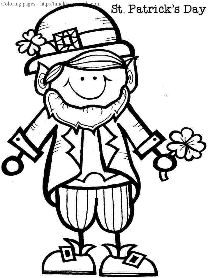 girl leprechaun coloring pages photo 4 timeless miracle