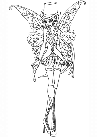 gothic flora coloring page free printable coloring pages