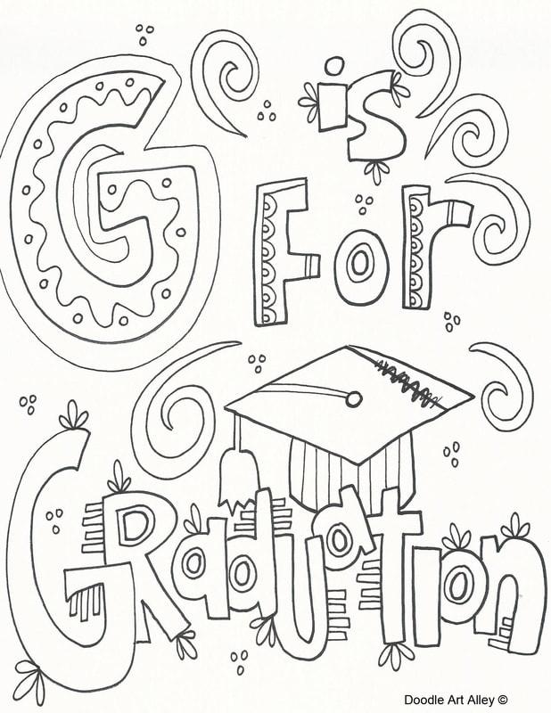 graduation coloring pages to print pusat hobi