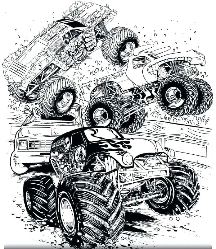 grave digger coloring pages printable interesantecosmetice
