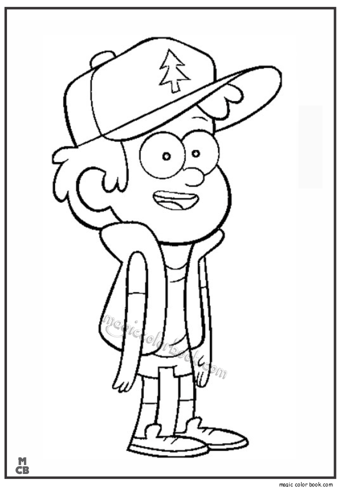 gravity falls coloring pages 34 ideen frs zeichnen
