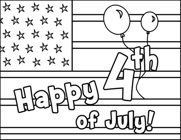 happy 4th of july coloring pages 2019 fourth of july