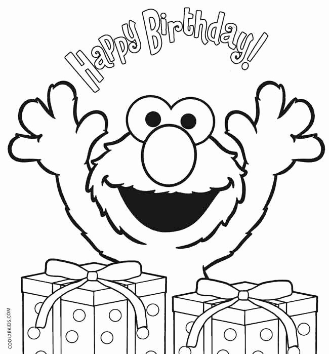 happy birthday coloring page awesome printable elmo coloring