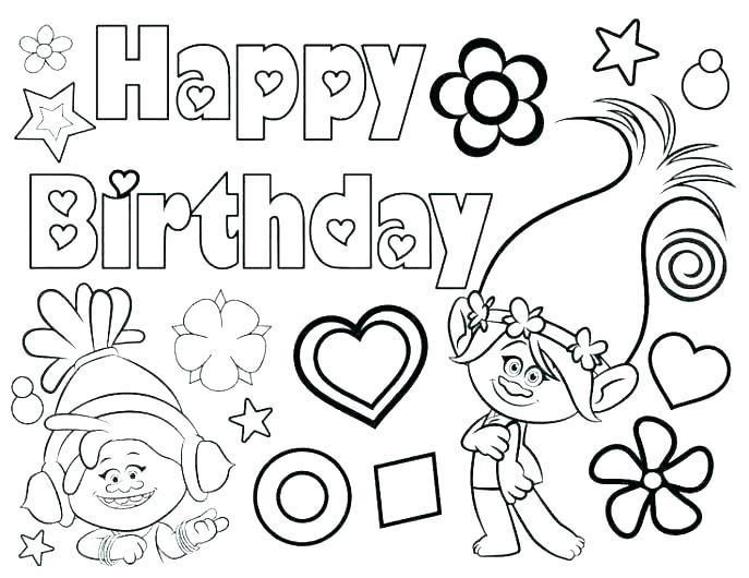 happy birthday nana coloring pages at getdrawings free