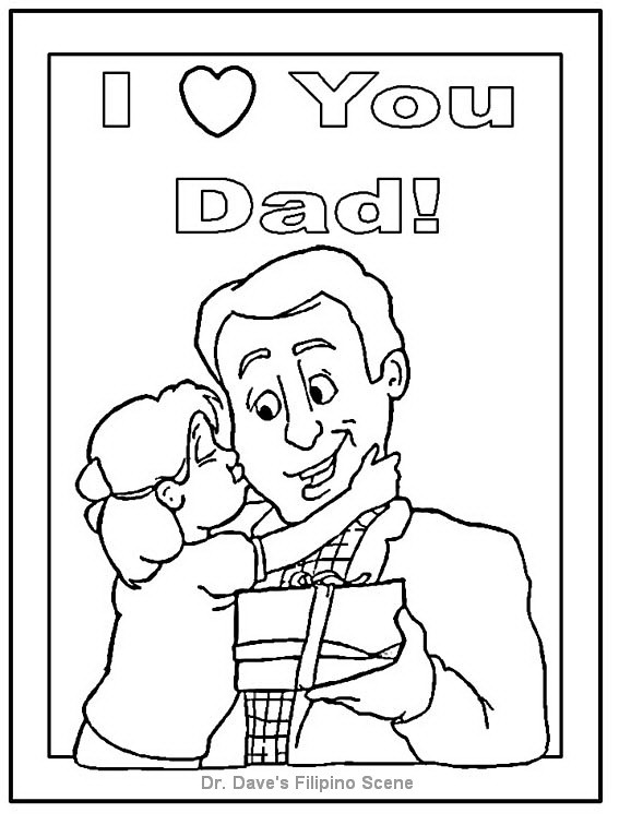 happy fathers day coloring pages for kids 4 dr daves
