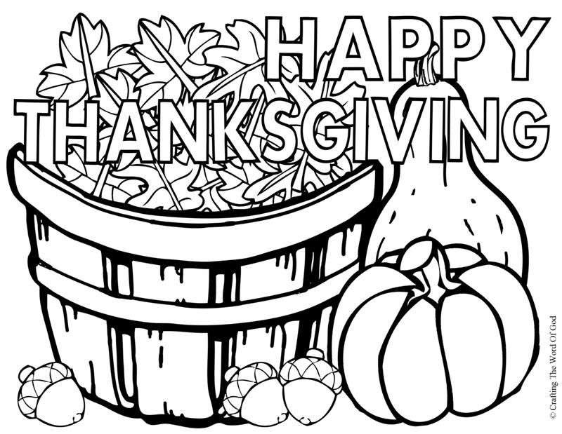 happy thanksgiving coloring activity pages happy