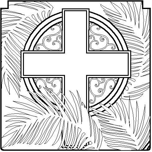 holy week coloring pages and printables coloring pages