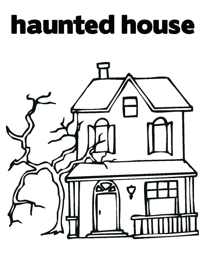 house coloring pages for preschoolers cantrallco