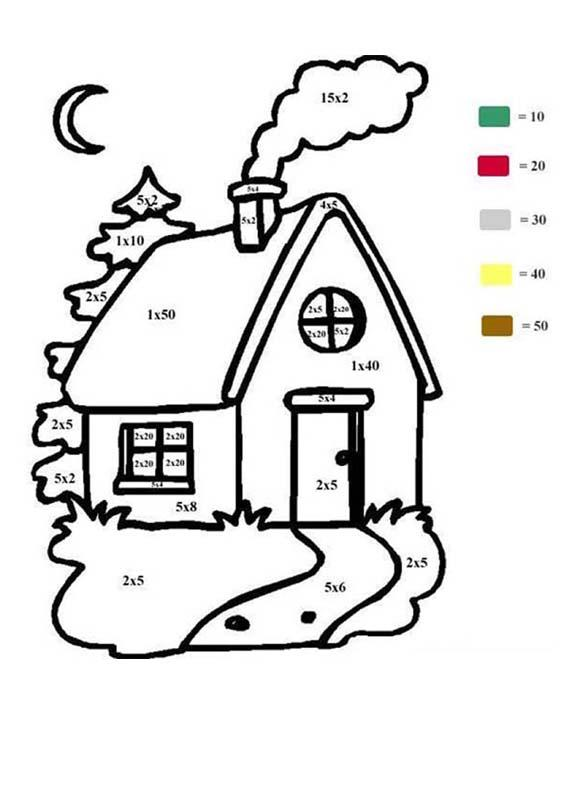house coloring pages hellokids
