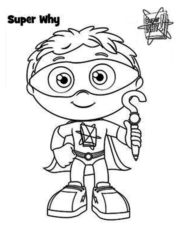how to draw whyatt from superwhy coloring page coloring sky