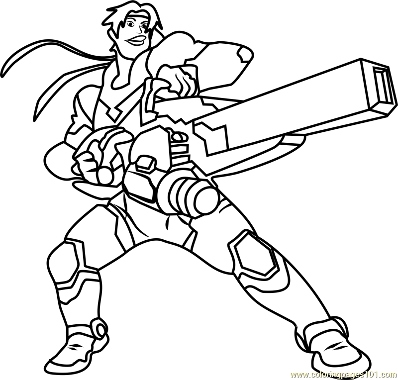 hunk coloring page free voltron legendary defender