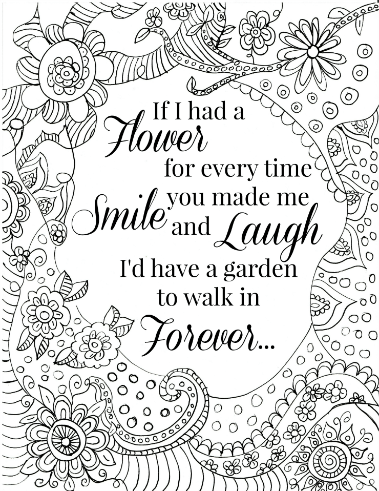 i miss you coloring pages teenagers