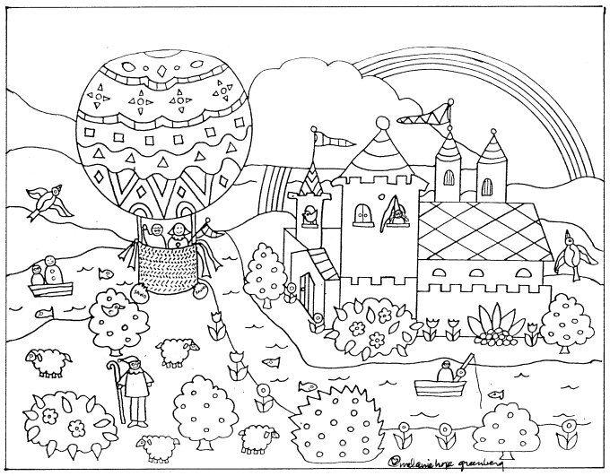imaginative fairy tale coloring page fairy coloring fairy