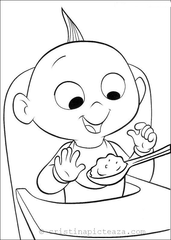 incredibles 2 coloring pages drawing sheets for painting