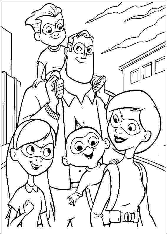 incredibles 2 free printable coloring pages disney the