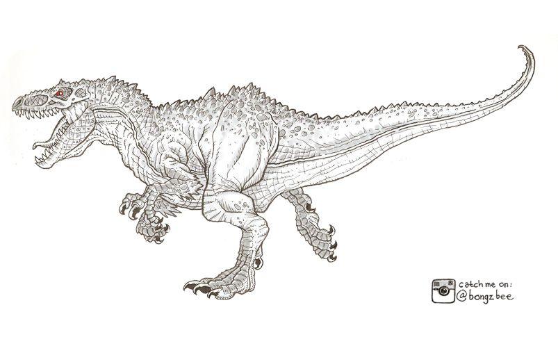 indominus rex drago indominus rex jurassic world t rex