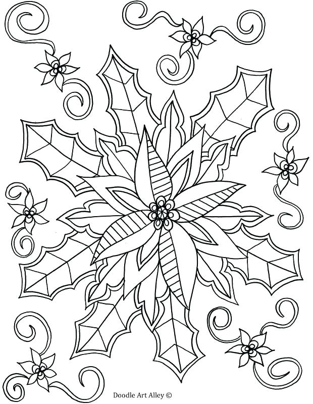 january coloring pages for kindergarten easy winter doodle