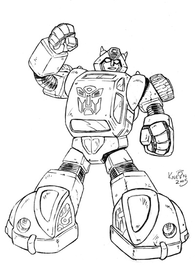 jarvis varnado transformers coloring pages bumblebee