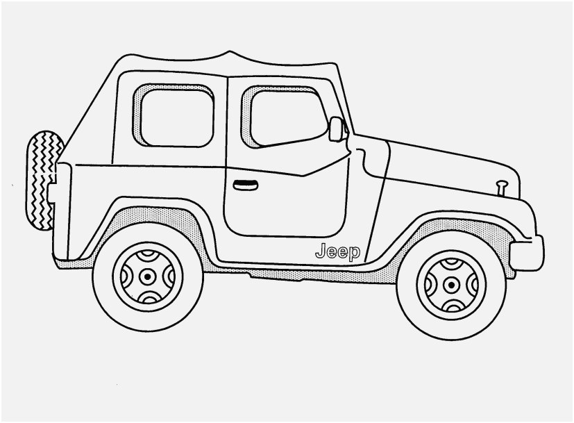 jeep coloring pages stock beautiful jeep wrangler coloring