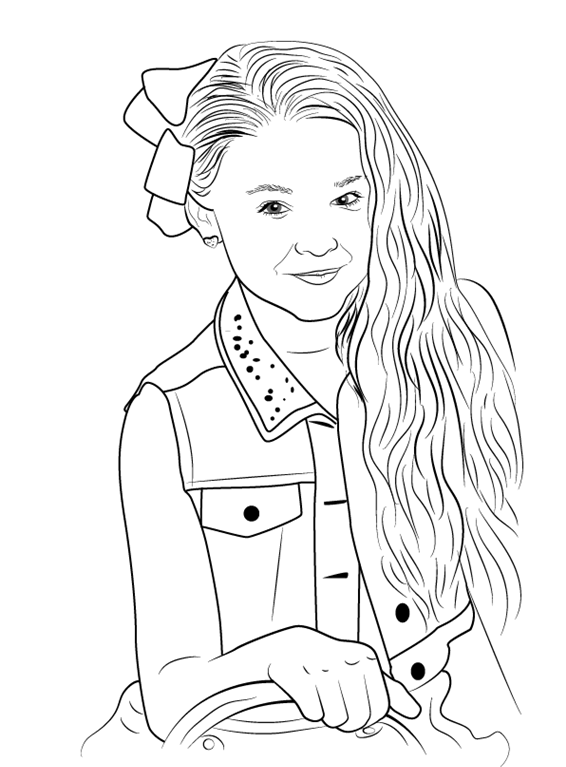 jojo siwa coloring pages coloring pages cute coloring